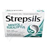 Strepsils Mentol a eukalyptus 0. 6mg/1. 2mg pas. 24