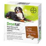 Drontal Dog Flavour XL 525/504/175mg tbl. 2