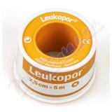 Leukopor fixační jemná páska/cívka 2. 5cmx5m