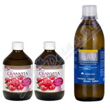 CRANVITA 1+1 500ml + Ag100 10ppm 500ml