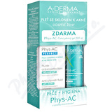 A-DERMA Phys-AC Perfect 40ml+ čist. gel 100ml