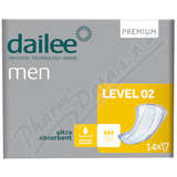 Dailee Men Premium Level 2 inko. vložky 14ks