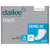 Dailee Men Premium Level 3 inko. vložky 14ks