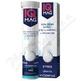 IQ Mag 375mg hořčíku + vit. B6 šumivé tablety 20ks