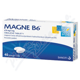 Magne B6 470mg/5mg  40 tablet