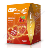 GS Vitamin C1000+šípky tbl. 100+20 dárek 2020 ČR/SK