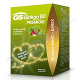 GS Ginkgo 60 Premium tbl. 60+30 dárek 2020 ČR/SK
