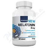 Allnature Melatonin 2 mg tbl. 60