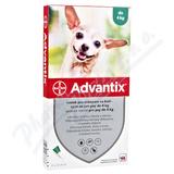Advantix pro psy spot. on. do 4kg a. u. v. 4x0. 4ml