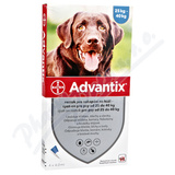Advantix pro psy spot. on. nad 25kg a. u. v. 4x4ml