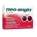 Neo-angin bez cukru Třešeň 24 pastilek