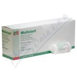 Obinadlo elastické fixační Mollelast 6cmx4m v celofánu 1ks