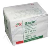 Gáza hydrofil. skl. kompr. Gazin 10x10cm-100ks 8vrst.