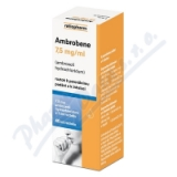 Ambrobene roztok 40ml 7. 5mg/ml