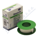 Náplast Omnisilk bílé hedvábí 1. 25cmx5m 1ks