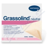 Kompres Grassolind Neutral ster. 7. 5x10cm 50ks
