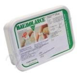 Lancety 2703+Haemolance Plus pro dosp. zelené 100ks