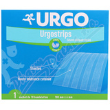 URGO STRIPS Fixační nápl.  stehy 100x6mm 10ks