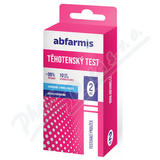 Abfarmis Těhotenský test 10mIU/ml 2ks