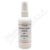 Peroxid vodíku Fagron 3% drm. spr. sol. 100g