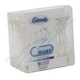 Vatové tyčinky Baby Protector 56ks