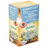 HERBEX Diabetický čaj 20x3g nálev. sáčky