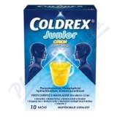 Coldrex Junior Citron 10 sáčků