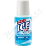 Refit Ice gel roll-on Menthol 2. 5% na záda 80ml