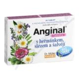 Anginal tablety s heřmánkem+slézem 16 tablet