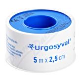 URGO SYVAL Fixační náplast 5mx2. 5cm textil