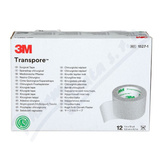 3M Transpore transp. náplast 2. 5cmx9. 1m 12ks
