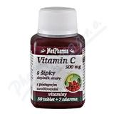 MedPharma Vitamín C 500mg s šípky tbl. 37 prod. úč.