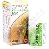 PM Propolis 50C+Royal jelly tbl. 50x500mg