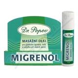 Migrenol Roll-on masážní olej 6ml Dr. Popov