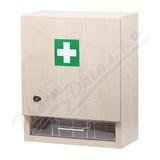 Lékárnička - nástěnná s náplní do 30osob-ZM30