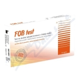 FOB test na okultní krvácení v lidské stolici