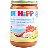 HiPP MENU Těst. s moř. rybou a rajč.  220g