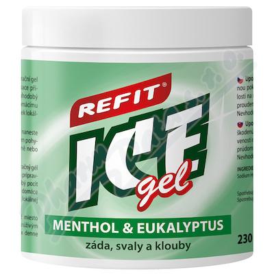 Refit Ice masážní gel s eukalyp.+menthol.230ml