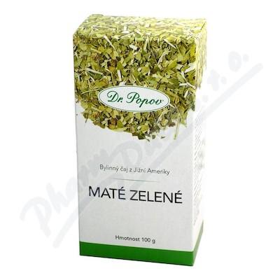 Čaj Zelené maté Dr.Popov 100g