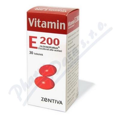 Vitamin E 200 Zentiva por.cps.mol.30x200mg