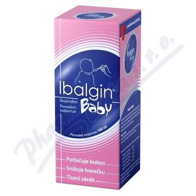 Ibalgin Baby sirup 100ml 20mg/ml