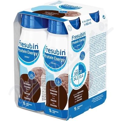 Fresubin protein energy čokoláda por.sol. 4x200ml