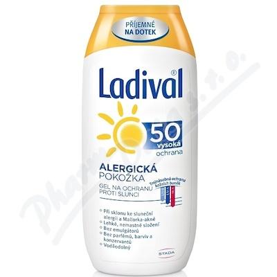LADIVAL OF50+ gel alergická kůže 200ml