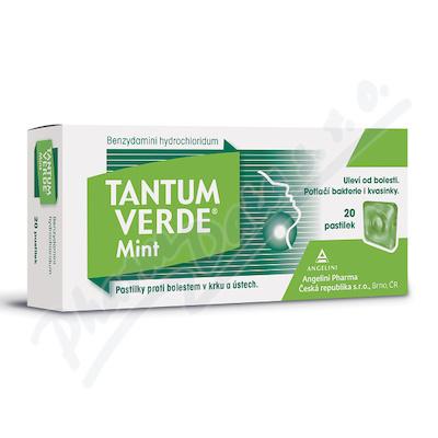 Tantum Verde Mint 3mg 20 pastilek