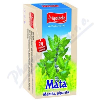 Apotheke Máta peprná čaj 20x2g n.s.