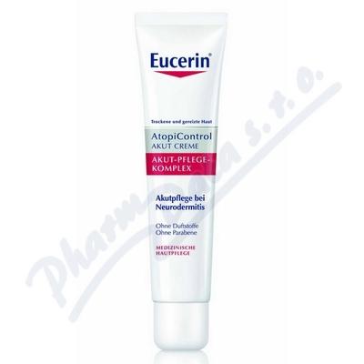 EUCERIN Acute Care krém na suchou svědící pokožku 40ml
