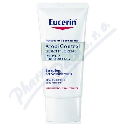 EUCERIN AtopiControl pleťový krém na suchou zarudlou pokožku 50ml