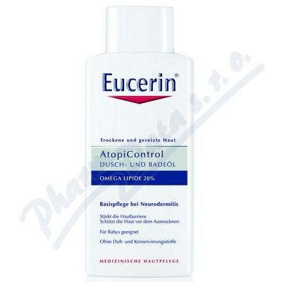 EUCERIN AtopiControl sprchový olej na suchou zarudlou pokožku 400ml