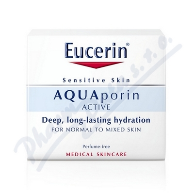 EUCERIN AQUAporin ACTIVE krém na normální a smíšenou pleť 50ml