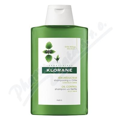 KLORANE Ortie šampon s výtažkem z kopřivy na mastné vlasy 200 ml